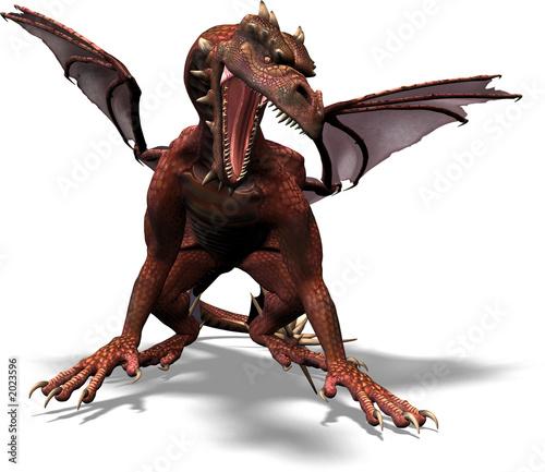 Poster Draken dragon attack