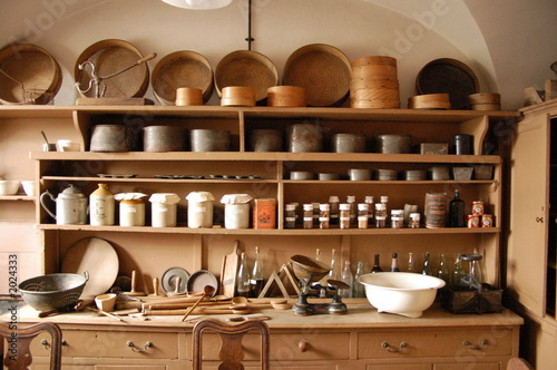 Cuisine Ancienne De Chateau Buy This Stock Photo And