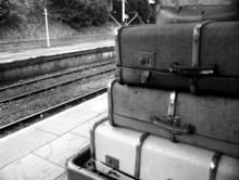 Old Railway Luggage