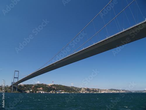 Fotografia puente sobre el bosforo, estambul, turquia