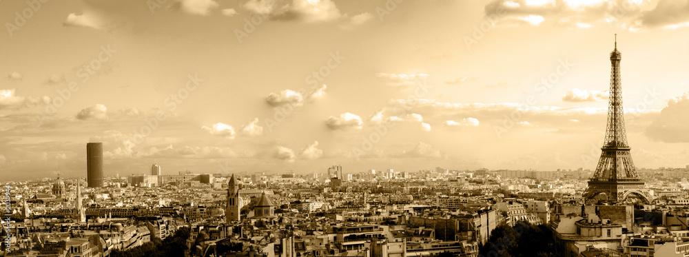Fototapety, obrazy: les toits de paris