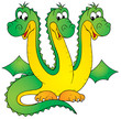 Leinwandbild Motiv dragon