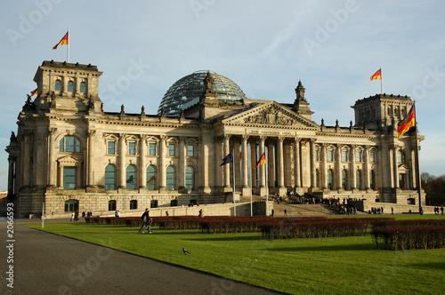 Keuken foto achterwand Berlijn bundestag - reichstag