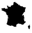 france map black