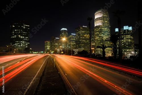 Staande foto Los Angeles los angeles highway