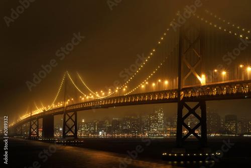 Canvas Prints San Francisco bay bridge
