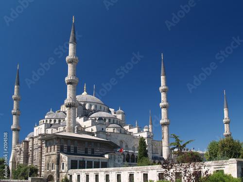 Foto-Kassettenrollo premium - mezquita azul en estambul