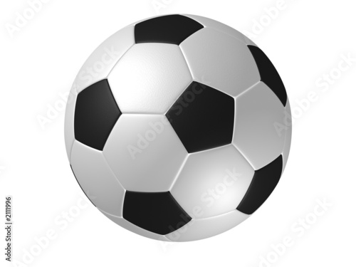 Fotografía  rotated soccer ball
