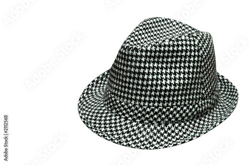 Photo  houndstooth hat