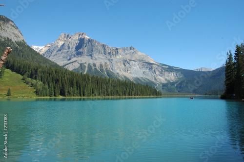 Poster Reflexion canada, lago alpino