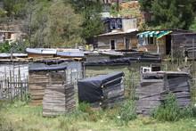 Informal Settlement Near Knysna, Western Cape