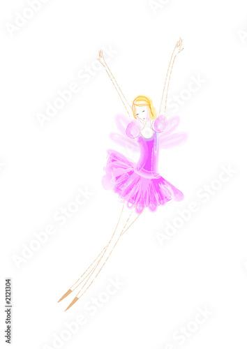Photo  ballerina fairy