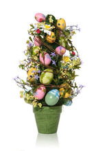 Colorful Easter Egg Tree