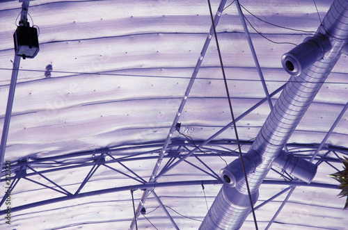 stadium ventilation Canvas Print
