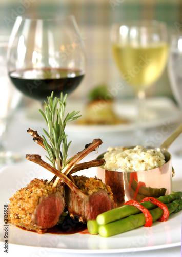 Fotografie, Obraz  gourmet meal