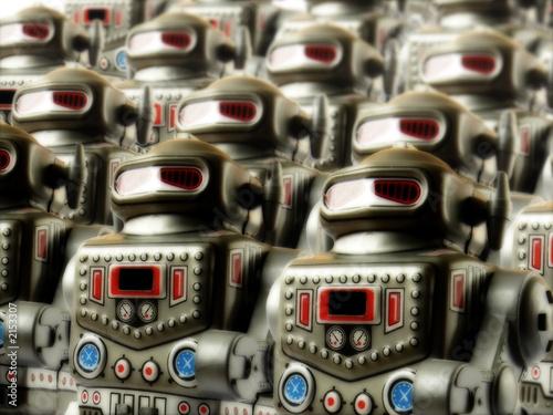 Obraz na plátne robot army 3