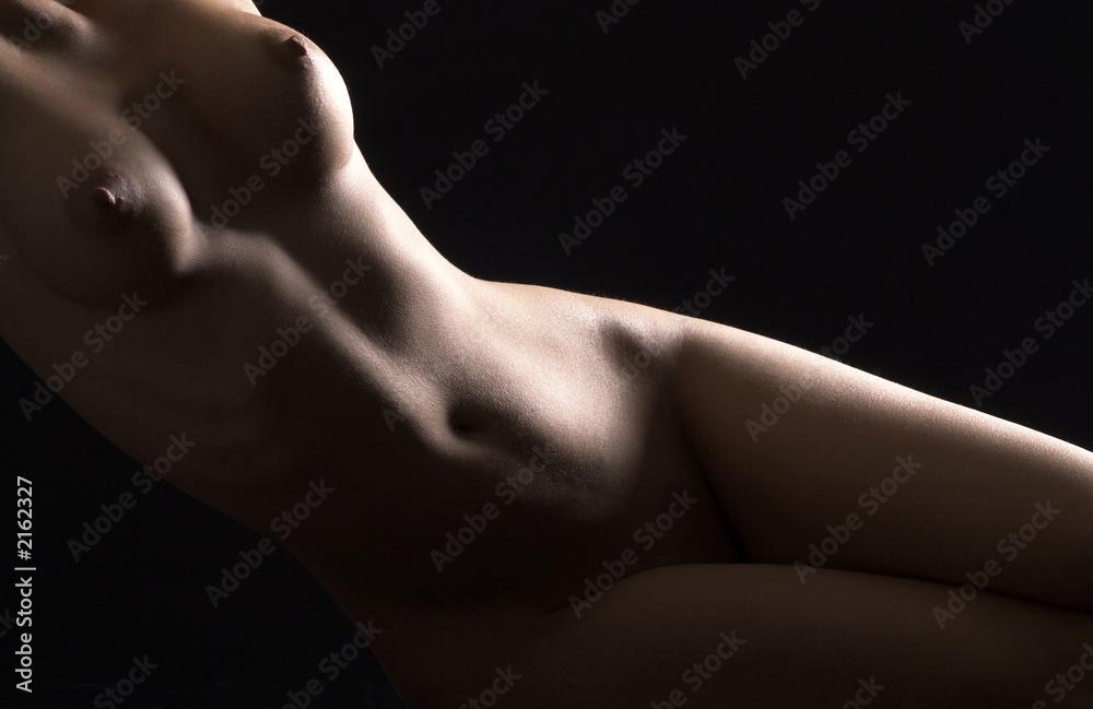 Fototapety, obrazy: light on body