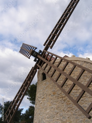 Poster Molens moulin à vent