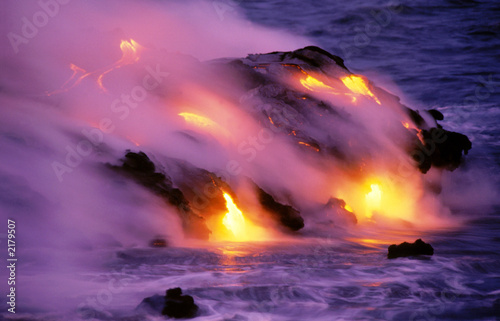 Deurstickers Vulkaan kilauea 0217