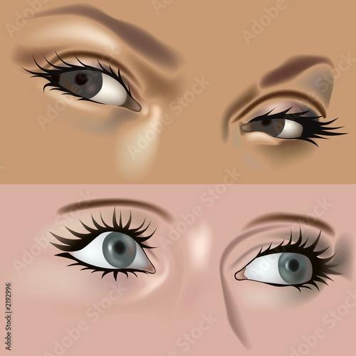 Fotografie, Obraz  eyes vol.5