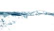 Leinwanddruck Bild water drops #7