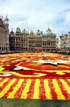 Flower Carpet In Grande Place
