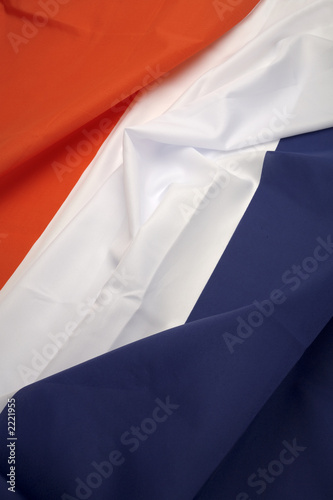 Obraz na płótnie portrait french flag