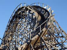 Wooden Roller Coaster Tracks, ...