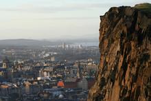 Salisburg Crags Edinburgh Scotland