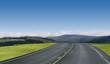Leinwandbild Motiv blue sky highway