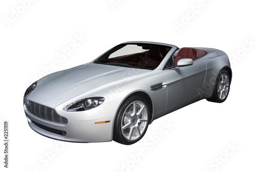 Photo  convertible sports car