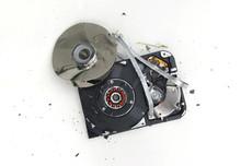 Computer Hard Drive, Broken