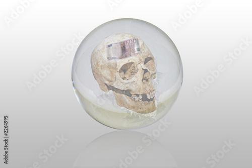 Valokuva bola de cristal con la muerte