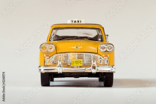 Staande foto New York TAXI new york taxi