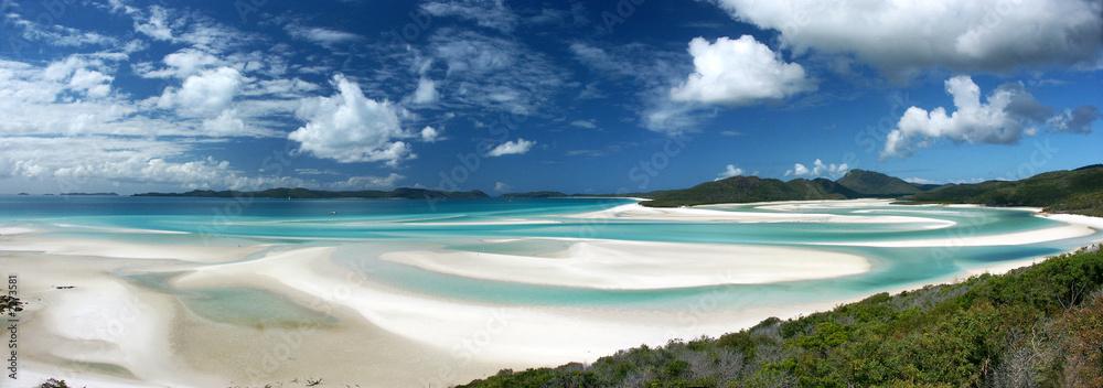 Fototapeta whitehaven beach