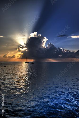 Foto-Schiebegardine Komplettsystem - hdr sky (von E2KY)