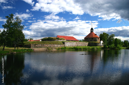 Fotografie, Obraz  fortress korela (kareliya)