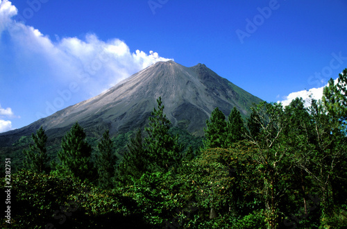 Poster Volcano arenal 0078