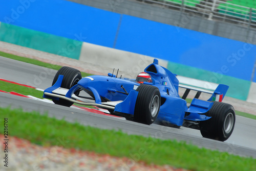 Türaufkleber Schnelle Autos stock photo of a1 grand prix in sepang malaysia 20