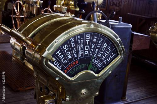 Fotografía  engine control
