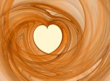 Abstract Romance Heart