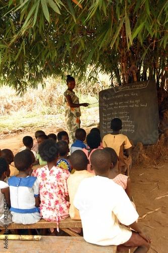 Poster Afrique school class