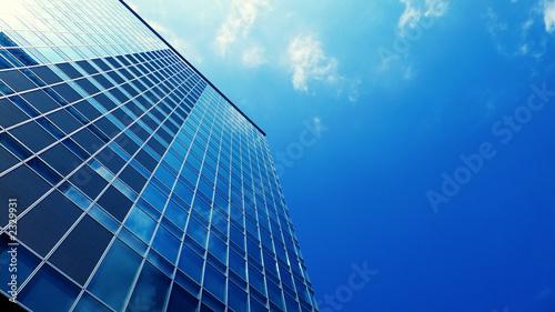 Obraz modern upstairs building - fototapety do salonu