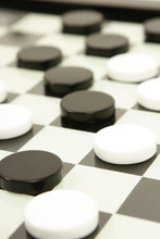 Black And White Board Game