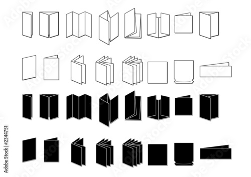 Fotomural pictos plis imprimerie