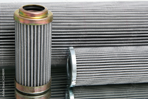 Photo  group of hydraulic filter