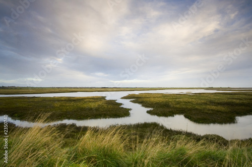 Canvas Print essex estuary