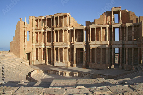 theatre antique de sabratha (libye)