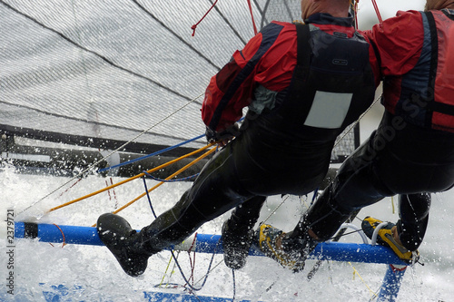 Fotografía  sailing pair 01