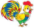 Leinwandbild Motiv cock